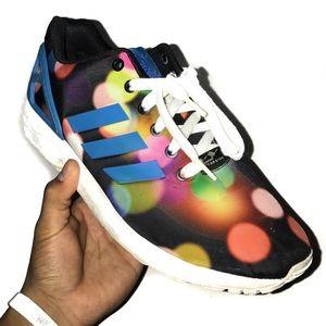 Rainbow Polkadot Adidas Shoes🔥🔥